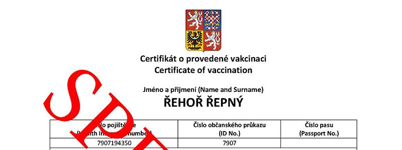 Certifikáty Covid a očkovací průkazy přijímané v Maďarsku