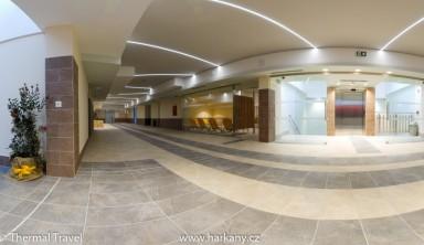 Nově zrekonstruovaná část prvního patra