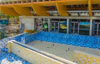 Nový krytý bazén